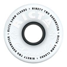 Ricta Skateboard Wheels Clouds 92a White/Black 54 mm (pack of 4)